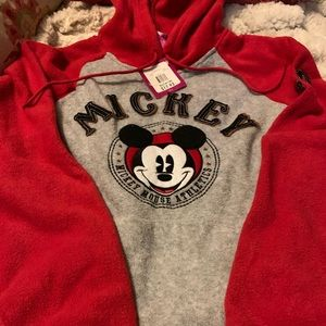 Cute Mickey Mouse hoodie. NWT